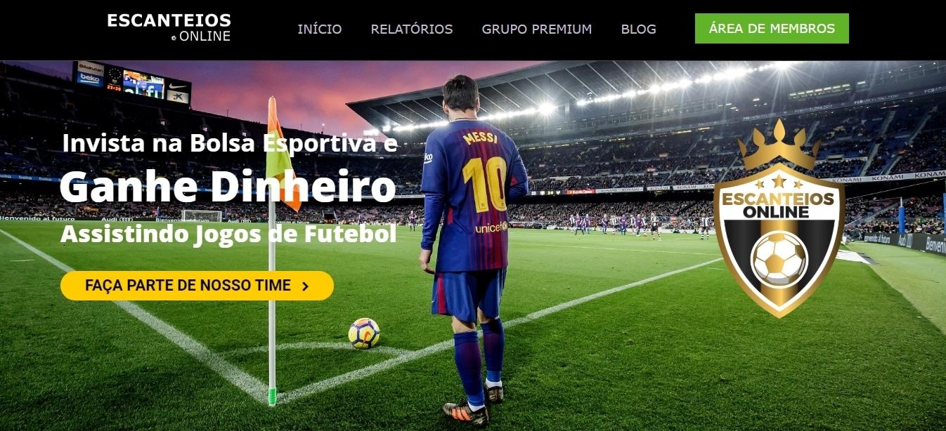 Site Escanteios Online