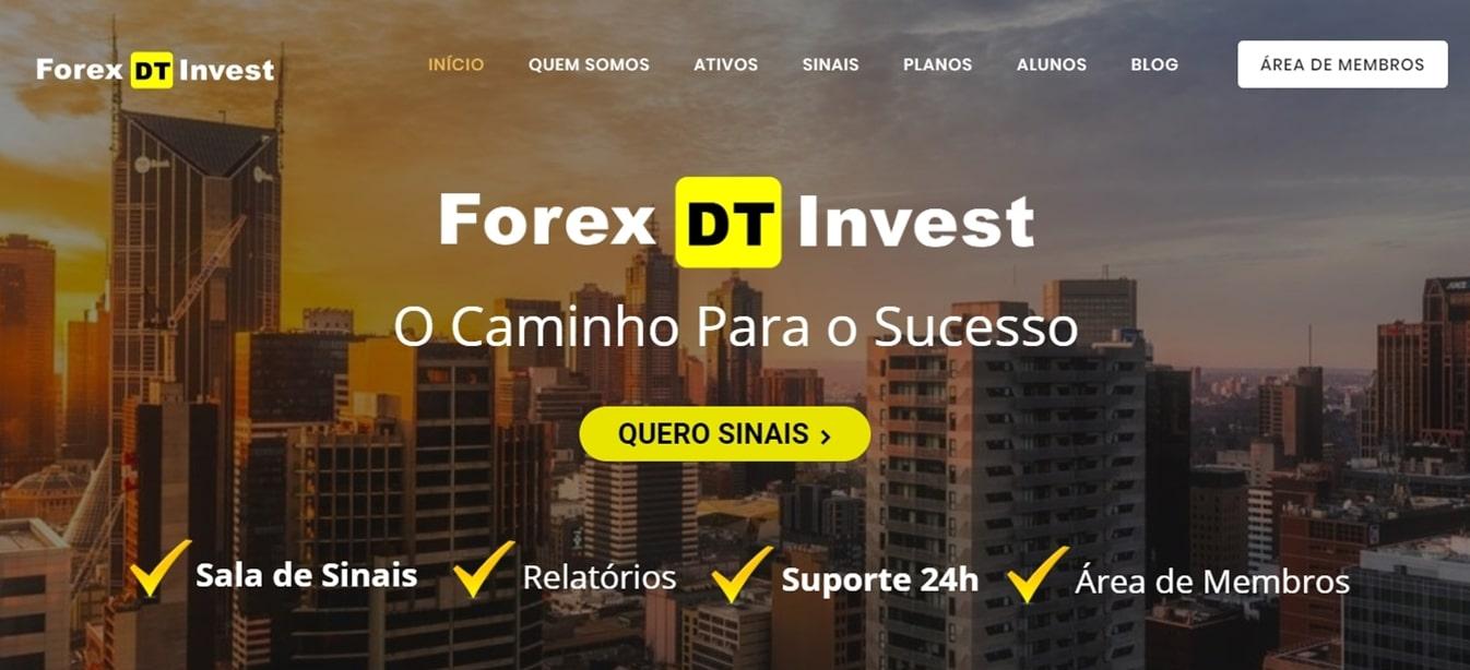 Site Forex DT Invest